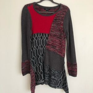 Style & Co Boho Textured Cozy Tunic Sweater